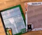 Пластиковое меню из полипропилена